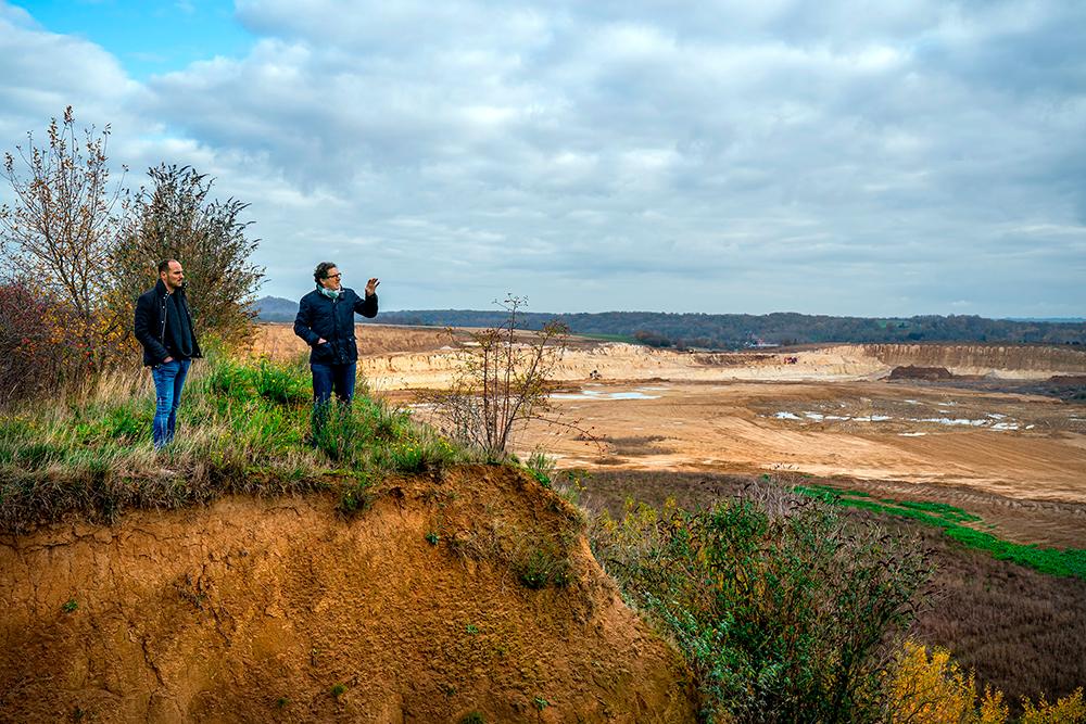 Une parcelle de Vin de Liège menacée d'excavation